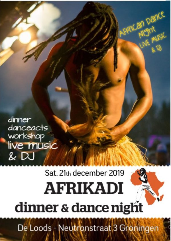African dance night African dinner & Dance night Groningen