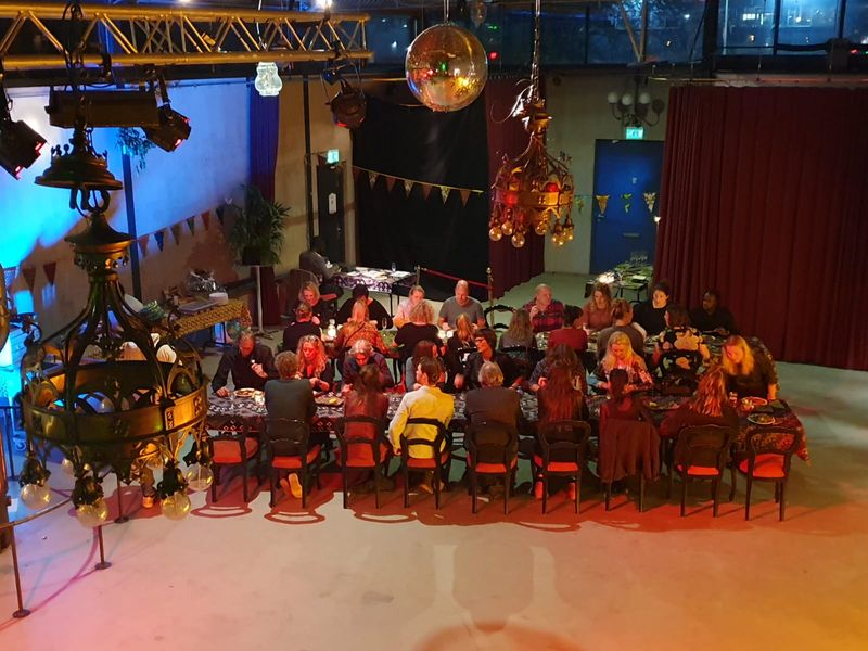 Afrikadi dinner and dance night @ De Loods Groningen.