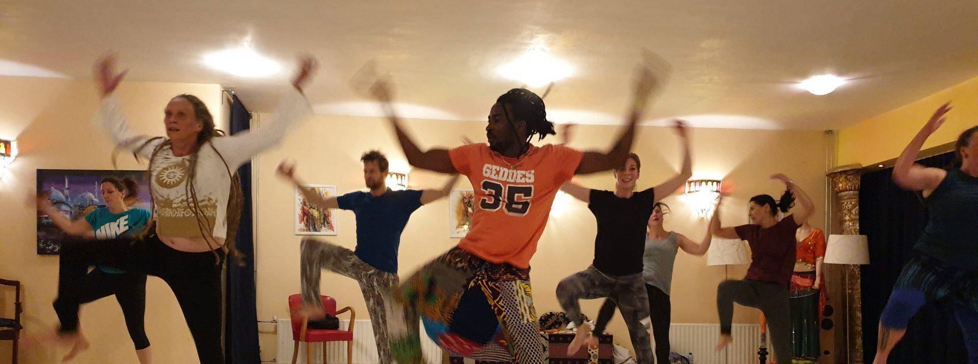 Afrikaanse dansles groningen Issiaga Soumah live percussie