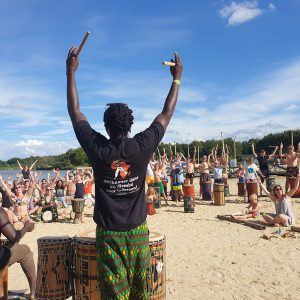 Afrikaanse dans doundoun djembe